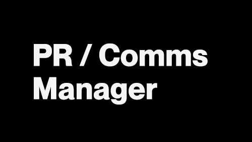 sync. Jobs - PR : Communications Manager